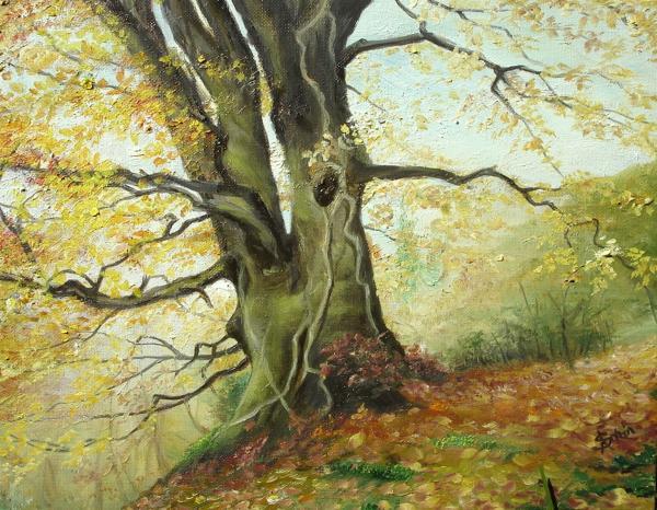 Tree Print by Sorin Apostolescu