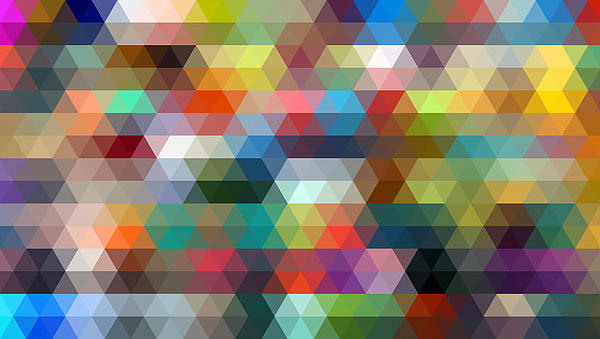 Triangulation 2 Print by Taylan Soyturk