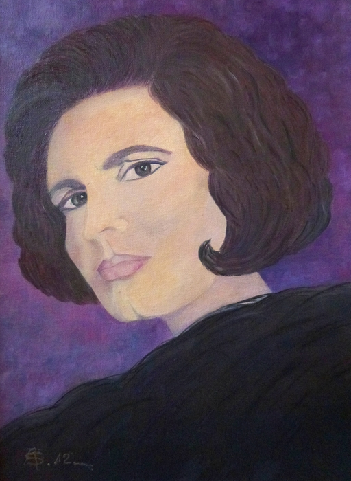 AmaS Art - Tribute to Amalia Rodrigues the Queen of Fado