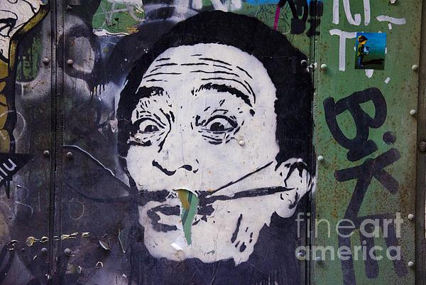 Tribute To Salvador Dali Print by Victoria Herrera