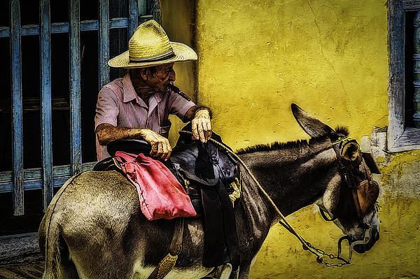 Trinidad In Color Part IIi - Donkeyboy Print by Erik Brede
