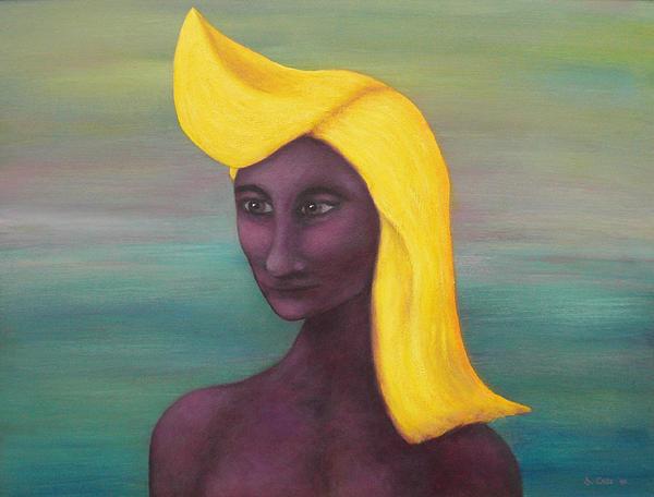 Tropical Mona Print by Douglas Case