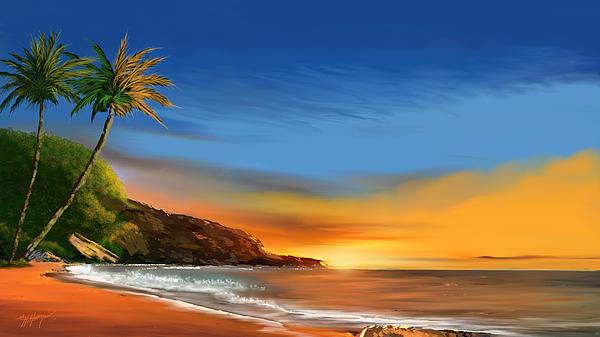 Anthony Fishburne - Tropical paradise