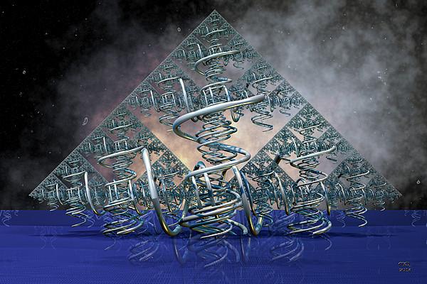 Tropism Print by Manny Lorenzo