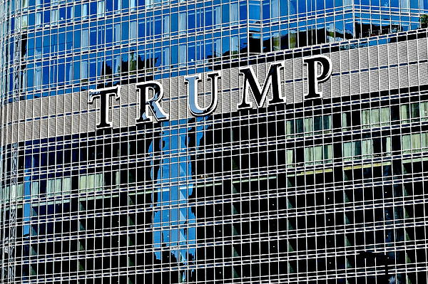 Frozen in Time Fine Art Photography - Trump Tower Marquee