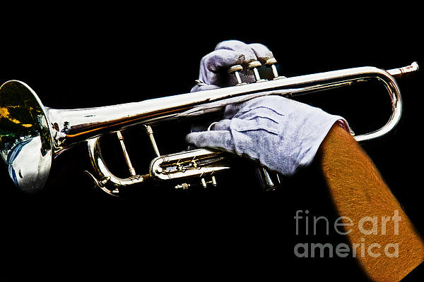 Trumpet Print by Tom Gari Gallery-Three-Photography