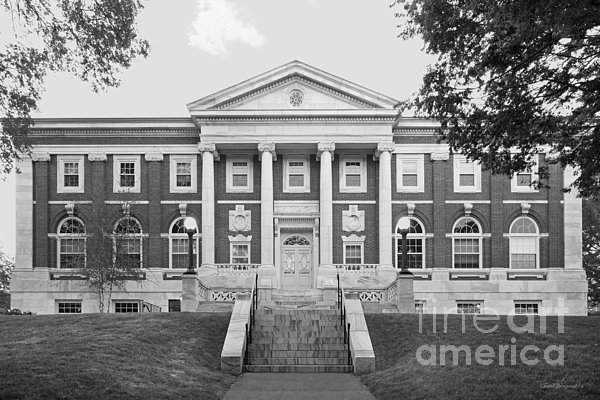 Tufts University Eaton Hall Print by University Icons