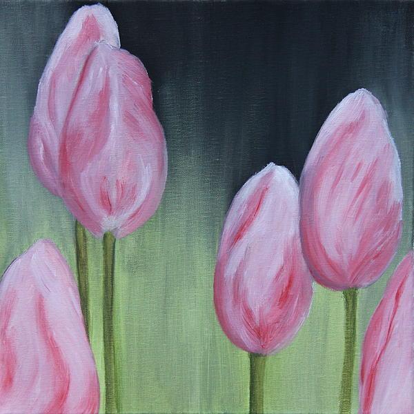 Christiane Schulze - Tulip Dream - Oil Painting