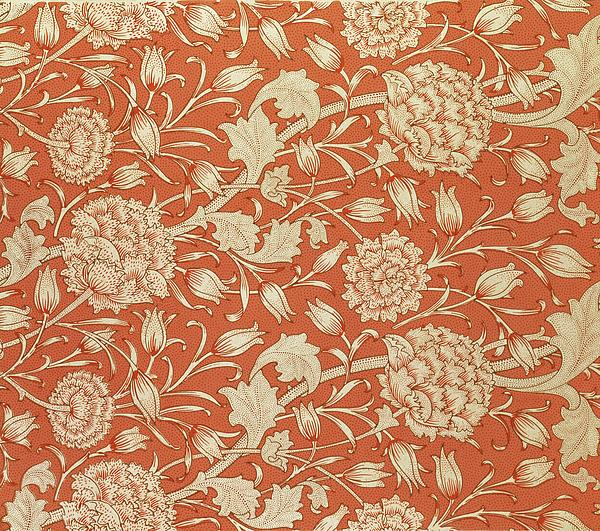 Tulip Wallpaper Design Print by William Morris