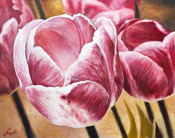 Tulips Print by Anna Abramska