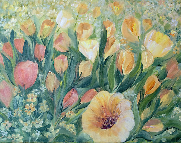 Tulips I Print by Joanne Smoley
