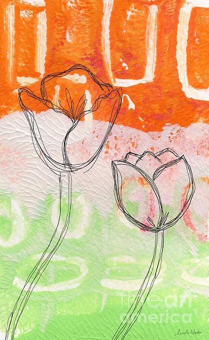 Tulips Print by Linda Woods