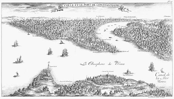 Turkey: Istanbul, 1680 Print by Granger