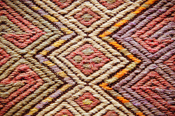 Turkish Rug Print by Tom Gowanlock