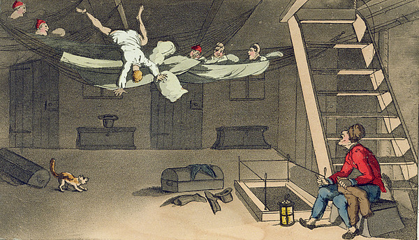 Turning In - And Out Again, Plate Print by Thomas Rowlandson