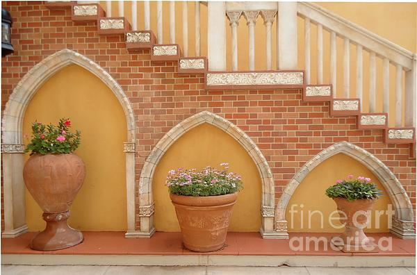Tuscany Style Welcome Print by Ann Johndro-Collins