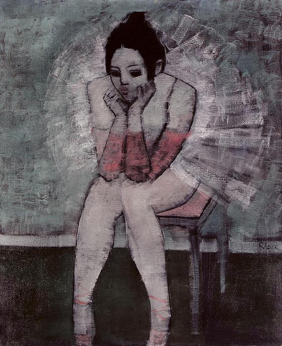 Tutu  Print by Endre Roder