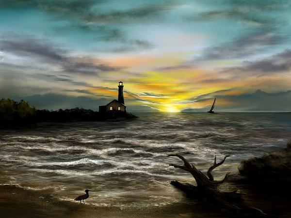 Ron Grafe - Twilight On The Sea