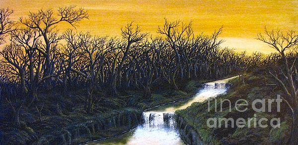 Twilight's Last Breath Print by Erik Coryell