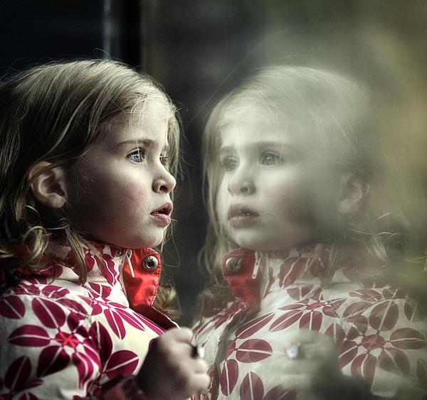Twins Print by Michel Verhoef