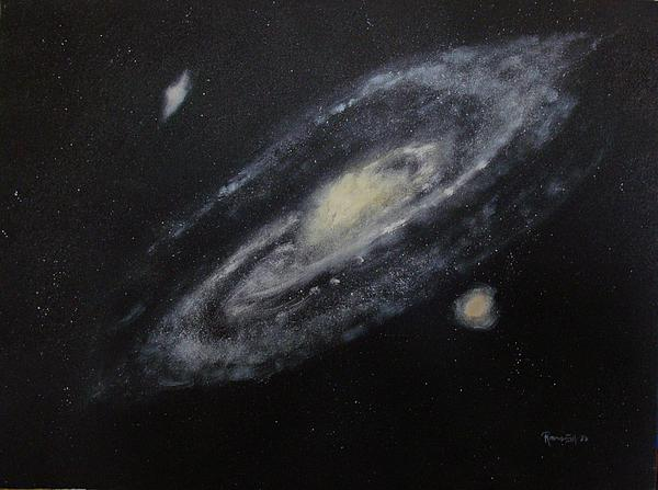 Two Arm Galaxy Print by Tony Ramos