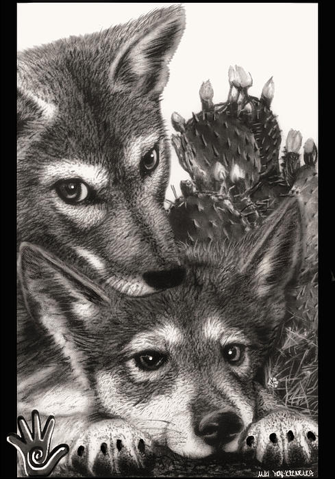 Miki Krenelka - Two Little Lobos