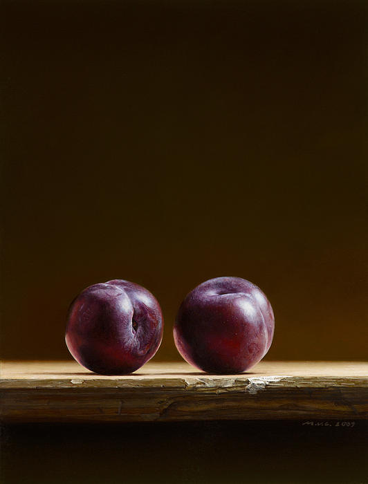 Mark Van crombrugge - Two Plums
