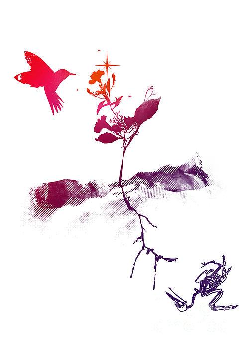 Two World Print by Budi Kwan