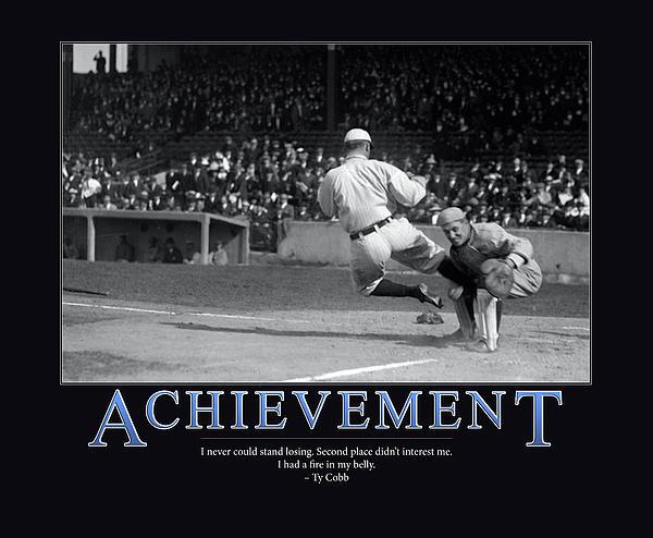 Ty Cobb Achievement  Print by Retro Images Archive