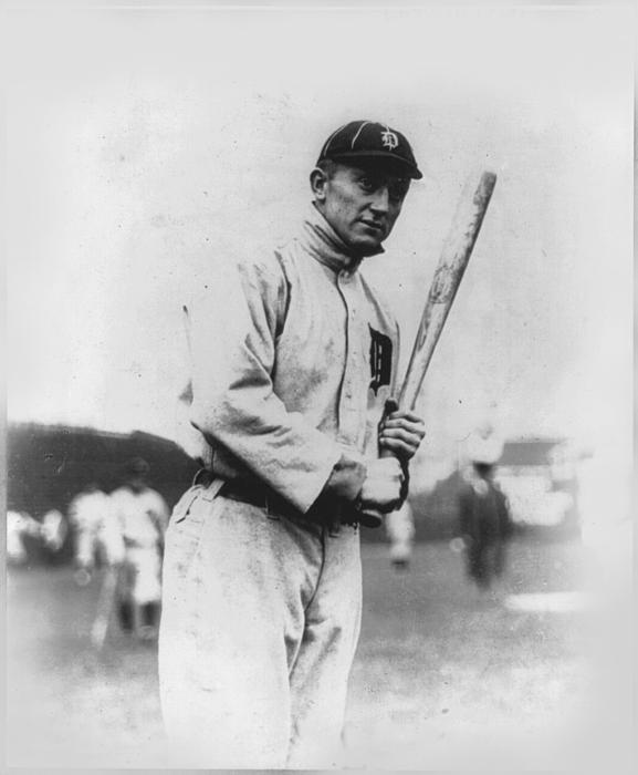 Ty Cobb Print by Unknown