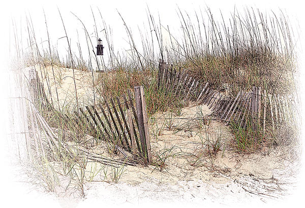 Tybee Lighthouse Print by Marcia Colelli