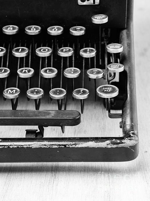 Typewriter Triptych Part 3 Print by Edward Fielding