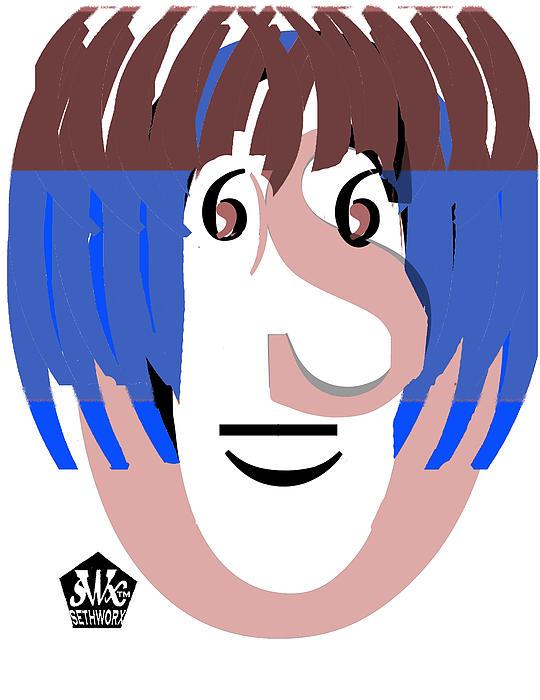 Typortraiture Ringo Starr Print by Seth Weaver
