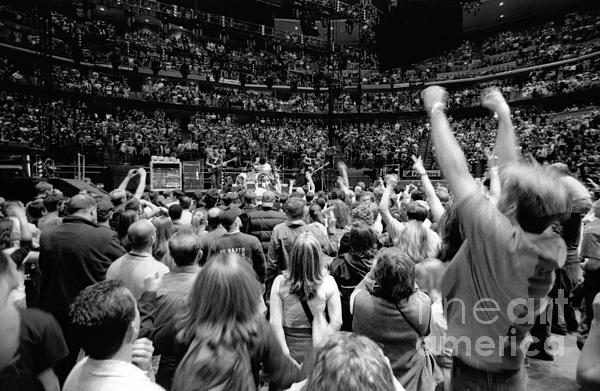 U2-crowd-gp13 Print by Timothy Bischoff