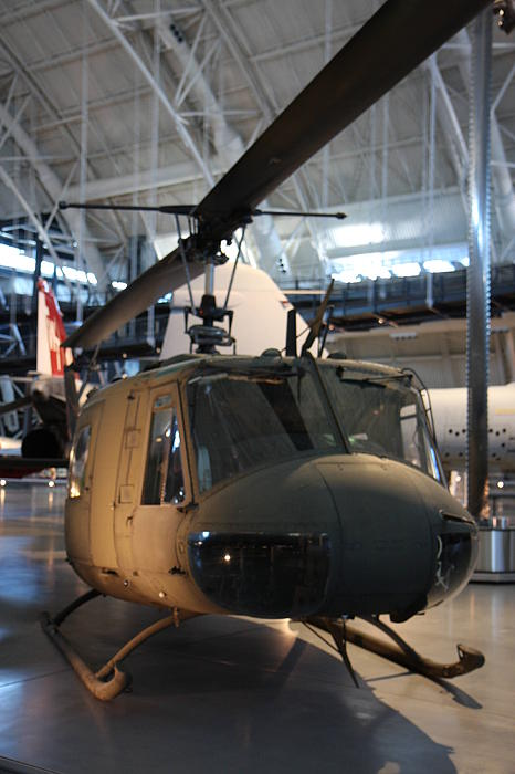 Udvar-hazy Center - Smithsonian National Air And Space Museum Annex - 121223 Print by DC Photographer