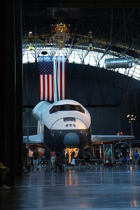 Udvar-hazy Center - Smithsonian National Air And Space Museum Annex - 121255 Print by DC Photographer