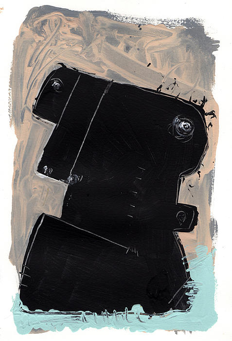 Umbra No. 1 Print by Mark M  Mellon