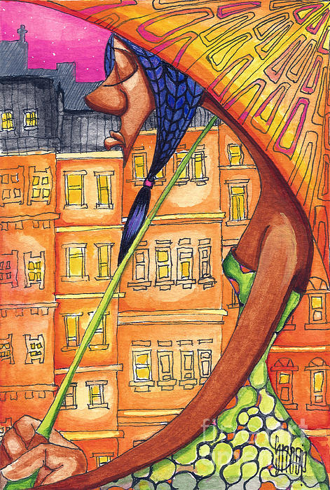 Under My Umbarella Print by Levi Robinson aka Snoop
