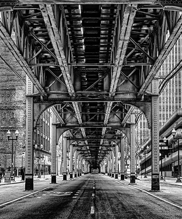 Under The Red Line Print by Mike Burgquist