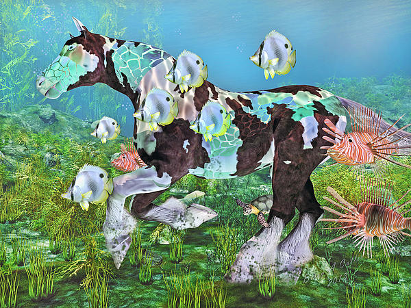 Under The Sea IIi Print by Betsy A  Cutler