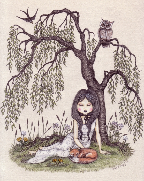 Snezana Kragulj - Under the willow tree