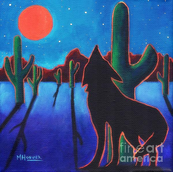Under Western Skies Print by MarLa Hoover