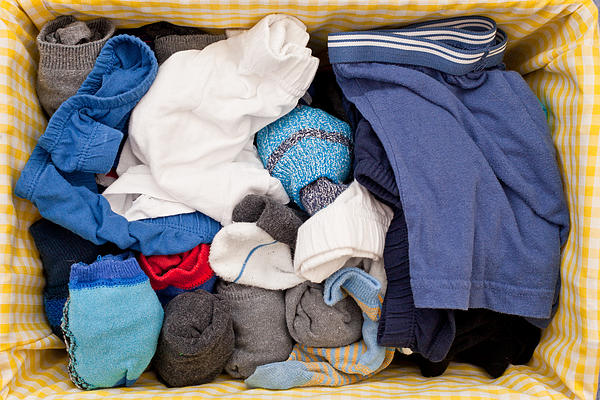 Underwear And Socks Print by Tom Gowanlock