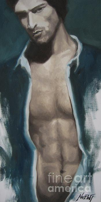 Undressing Print by Jindra Noewi