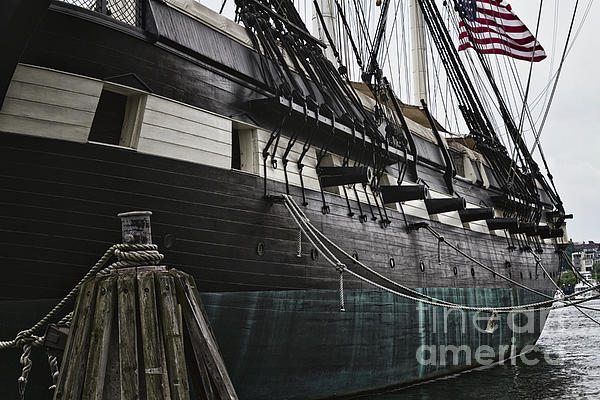 United States Ship Constellation Print by George Oze