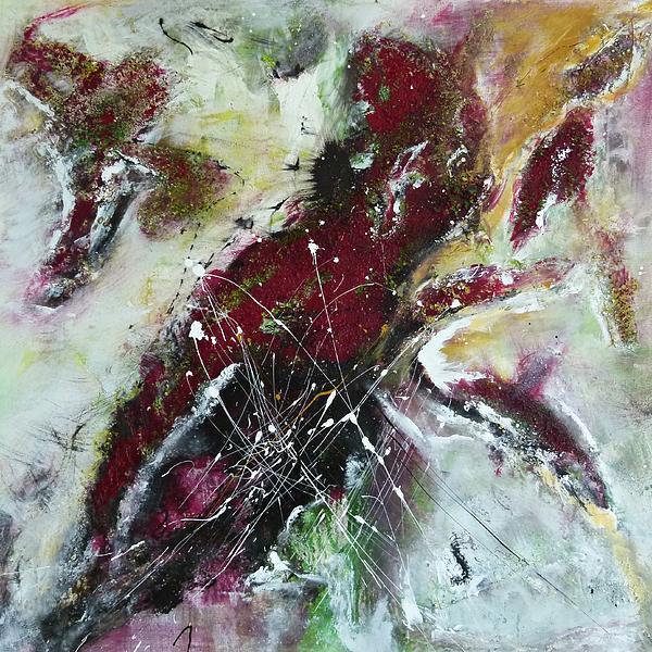 Universe- Abstract Art Print by Ismeta Gruenwald