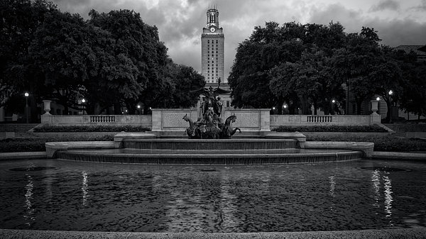 Joan Carroll - University of Texas Icons BW