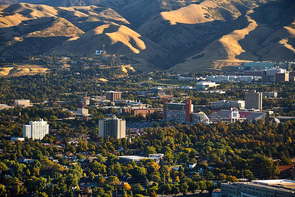 University Of Utah Campus Print by Utah Images
