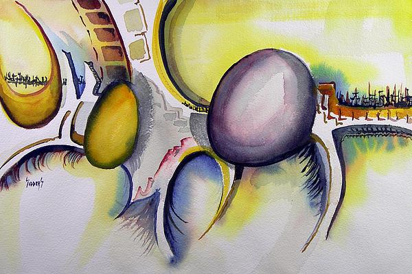 Untitled-960115 Print by Sam Sidders