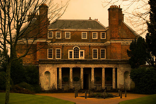 Uppark House Print by Tracey Beer